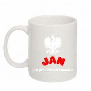 Mug 330ml Jan is a real Pole