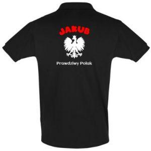 Koszulka Polo Jakub jest prawdziwym Polakiem