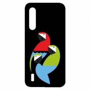 Etui na Xiaomi Mi9 Lite Jaskrawe papugi