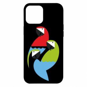 Etui na iPhone 12 Pro Max Jaskrawe papugi