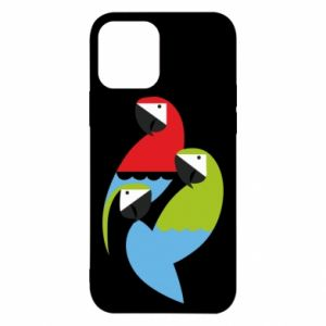 Etui na iPhone 12/12 Pro Jaskrawe papugi