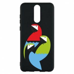 Etui na Huawei Mate 10 Lite Jaskrawe papugi