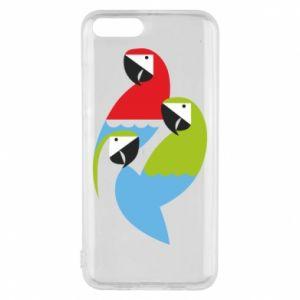 Etui na Xiaomi Mi6 Jaskrawe papugi
