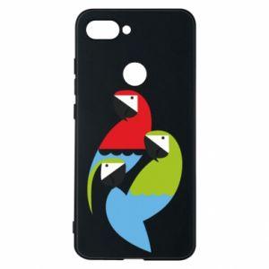 Etui na Xiaomi Mi8 Lite Jaskrawe papugi