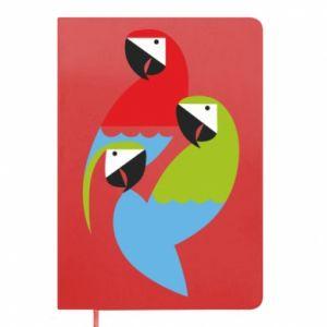 Notes Jaskrawe papugi
