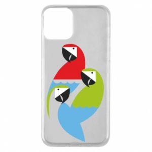 Etui na iPhone 11 Jaskrawe papugi