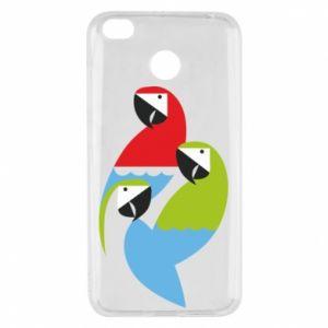 Etui na Xiaomi Redmi 4X Jaskrawe papugi