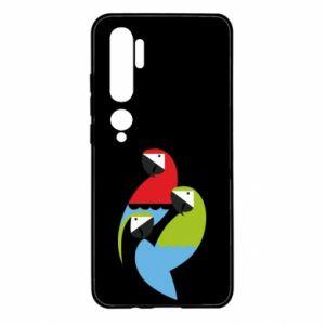 Etui na Xiaomi Mi Note 10 Jaskrawe papugi