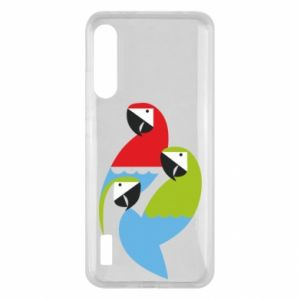 Etui na Xiaomi Mi A3 Jaskrawe papugi