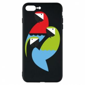 Etui na iPhone 8 Plus Jaskrawe papugi