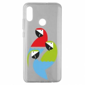 Etui na Huawei Honor 10 Lite Jaskrawe papugi