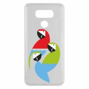Etui na LG G6 Jaskrawe papugi