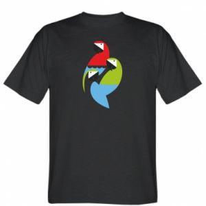 Koszulka Jaskrawe papugi