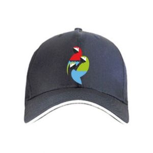 Czapka Jaskrawe papugi