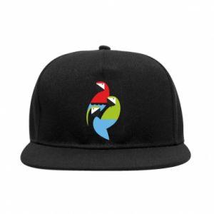 Snapback Jaskrawe papugi