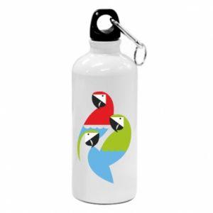Bidon turystyczny Jaskrawe papugi