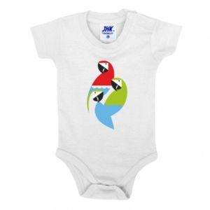 Body dla dzieci Jaskrawe papugi