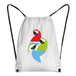 Plecak-worek Jaskrawe papugi