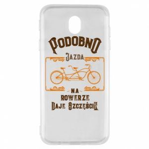 Samsung J7 2017 Case Cycling gives you happiness