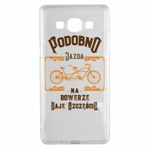 Samsung A5 2015 Case Cycling gives you happiness