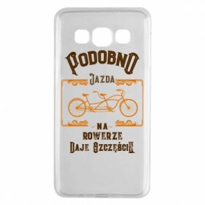 Samsung A3 2015 Case Cycling gives you happiness