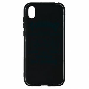 Huawei Y5 2019 Case Cycling gives you happiness