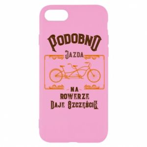 iPhone SE 2020 Case Cycling gives you happiness
