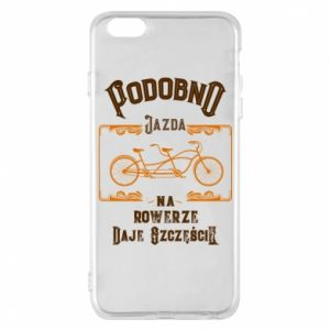 iPhone 6 Plus/6S Plus Case Cycling gives you happiness