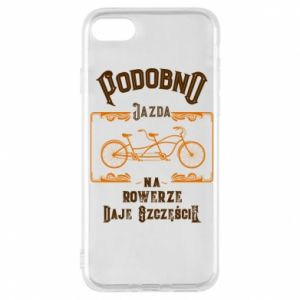 iPhone 7 Case Cycling gives you happiness