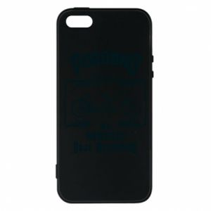 iPhone 5/5S/SE Case Cycling gives you happiness