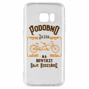 Samsung S7 Case Cycling gives you happiness