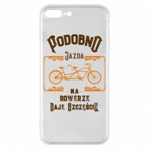 iPhone 8 Plus Case Cycling gives you happiness