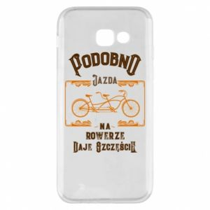 Samsung A5 2017 Case Cycling gives you happiness