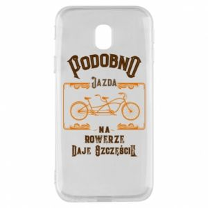 Samsung J3 2017 Case Cycling gives you happiness