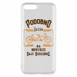 Xiaomi Mi6 Case Cycling gives you happiness