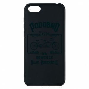 Huawei Y5 2018 Case Cycling gives you happiness