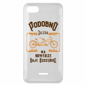 Xiaomi Redmi 6A Case Cycling gives you happiness