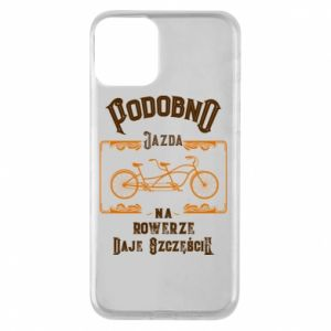 iPhone 11 Case Cycling gives you happiness