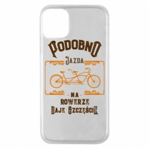 iPhone 11 Pro Case Cycling gives you happiness