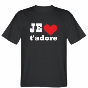 Koszulka męska Je t'adore