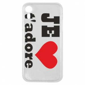 Etui na iPhone XR Je t'adore