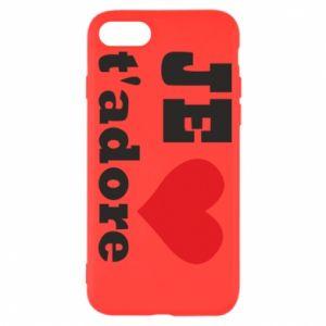 Etui na iPhone SE 2020 Je t'adore