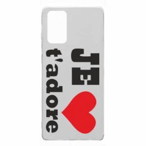 Etui na Samsung Note 20 Je t'adore