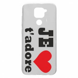 Etui na Xiaomi Redmi Note 9/Redmi 10X Je t'adore