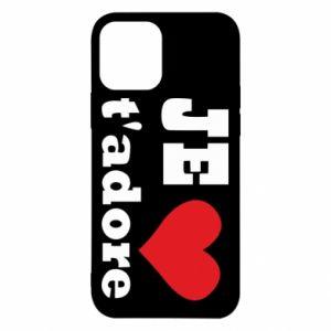 Etui na iPhone 12/12 Pro Je t'adore