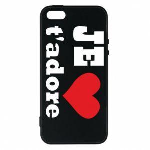 Etui na iPhone 5/5S/SE Je t'adore
