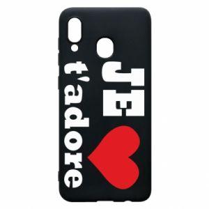 Etui na Samsung A30 Je t'adore