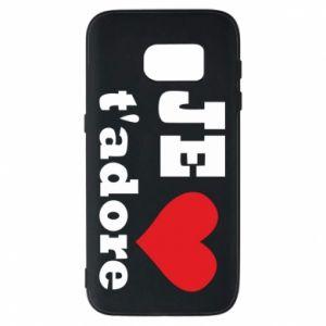 Etui na Samsung S7 Je t'adore