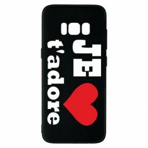 Etui na Samsung S8 Je t'adore