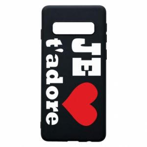 Phone case for Samsung S10 Je t'adore